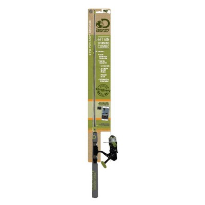 Discovery Spinning Combo Green 66  - 3pc