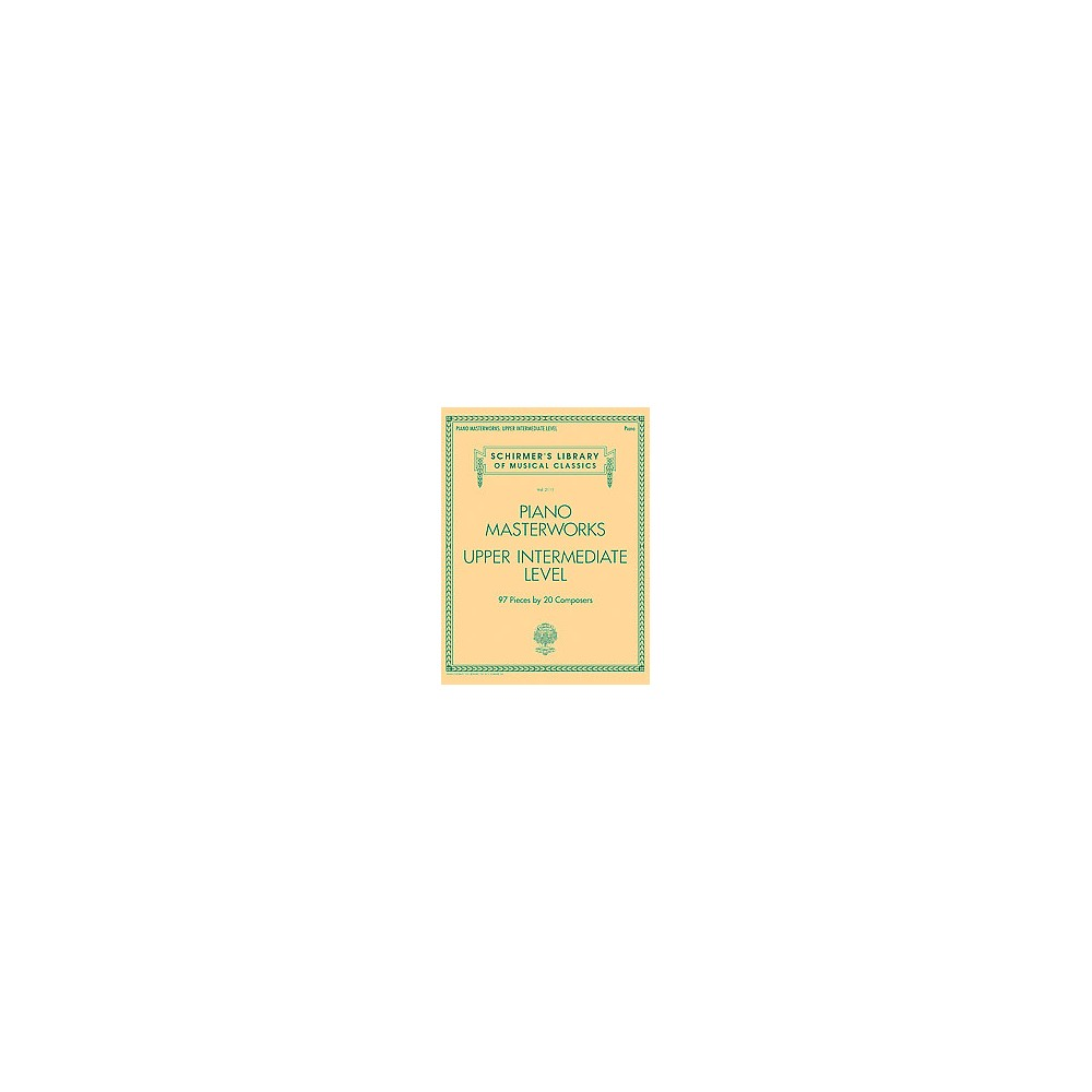 Piano Masterworks : Upper Intermediate Level (Paperback)