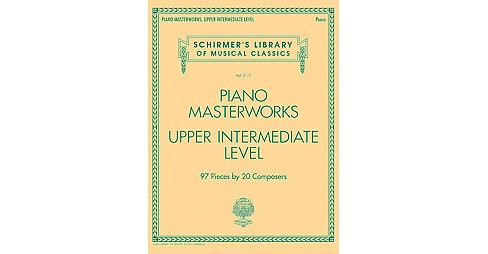 Piano Masterworks : Upper Intermediate Level (Paperback) - image 1 of 1