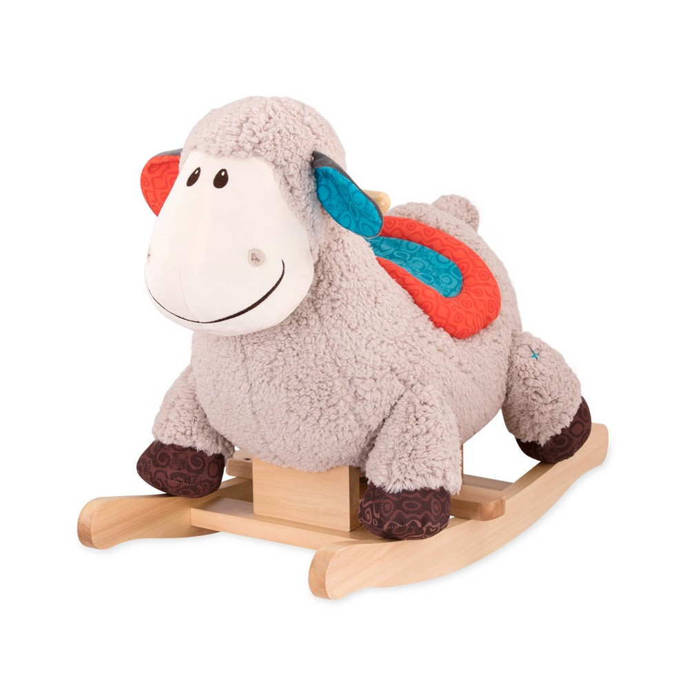 B. toys Rocking Sheep, Rockers and Spring Horses Hop on the back of a soft and squishy sheep and hang on! Gender: Unisex.