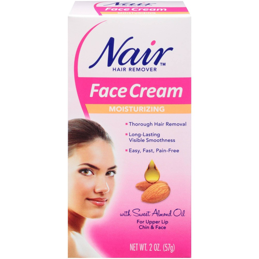 Image of Nair Facial Hair Remover Cream 2.0 oz