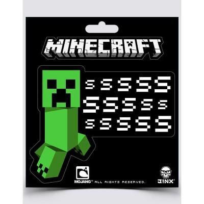 JINX Inc. Minecraft Creeper SSSsss Sticker