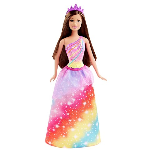 Barbie Fairytale Princess Rainbow Fashion Doll - image 1 of 6