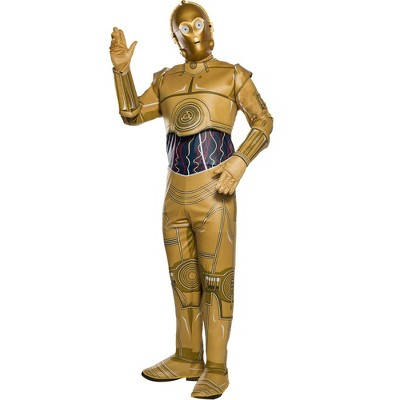 Rubie's Star Wars Adult's Classic C-3Po Halloween Costume