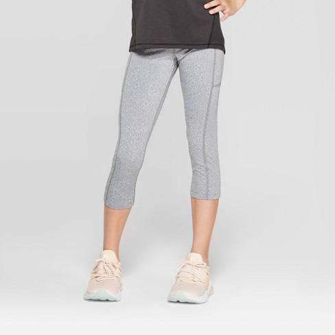 Girls' Premium Performance Capri Leggings with Pockets - C9 Champion® - image 1 of 3