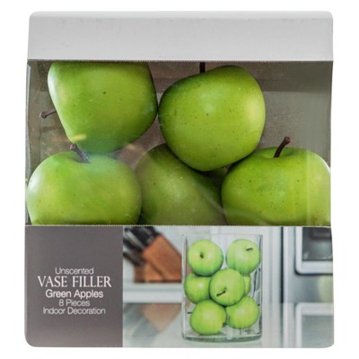 Decorative Apple Filler 8pc Green - Lloyd & Hannah