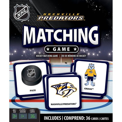 NHL Nashville Predators Matching Game - image 1 of 2