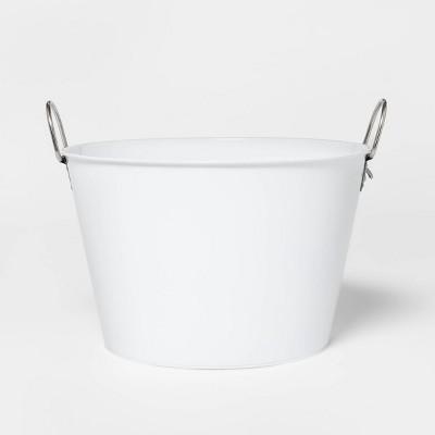 22.8L Metal Beverage Tub White - Sun Squad™