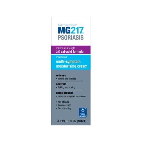 MG217 Psoriasis Multi - Symptom Moisturizing Cream - 3.5oz - image 1 of 1