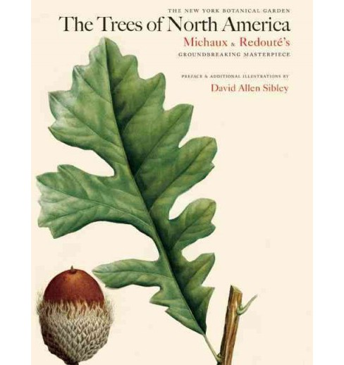Trees of North America : Michaux and Redoute's American Masterpiece -  (Hardcover) - image 1 of 1