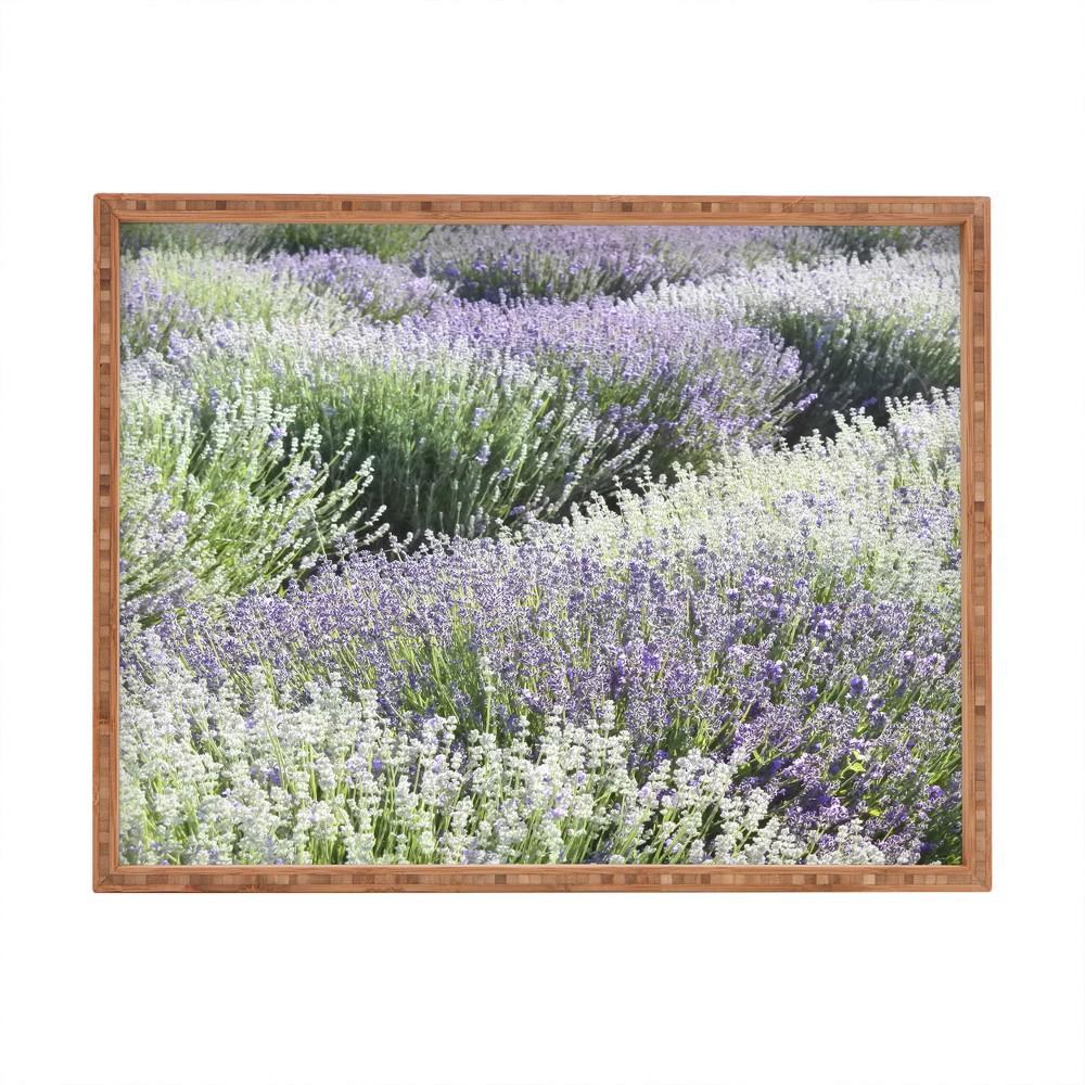 Lisa Argyropoulos Lavender Dreams Tray (18) - Deny Designs, Purple