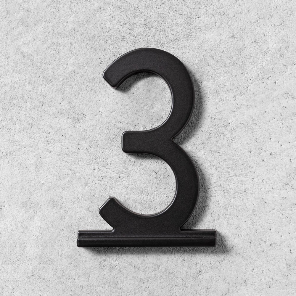 Image of 3 House Number Black - Hearth & Hand with Magnolia