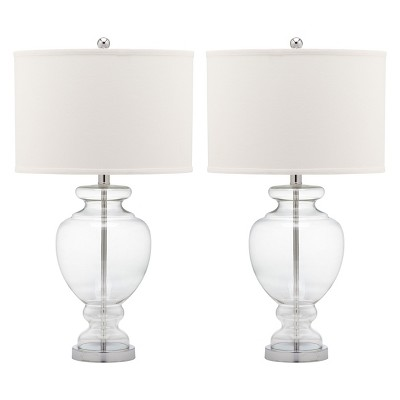 Clear Glass Table Lamp - Clear (Set of 2)- Safavieh®