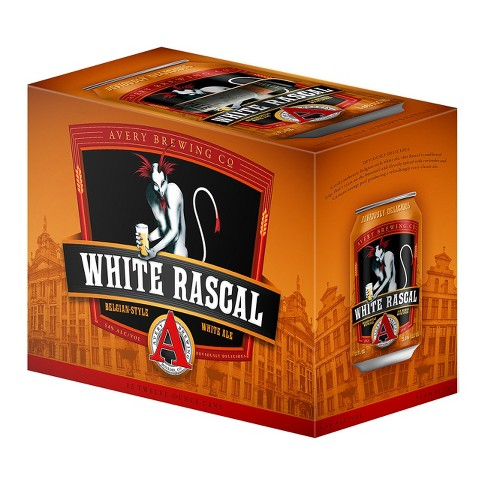 Avery White Rascal White Ale Beer - 12pk/12 fl oz Cans - image 1 of 1