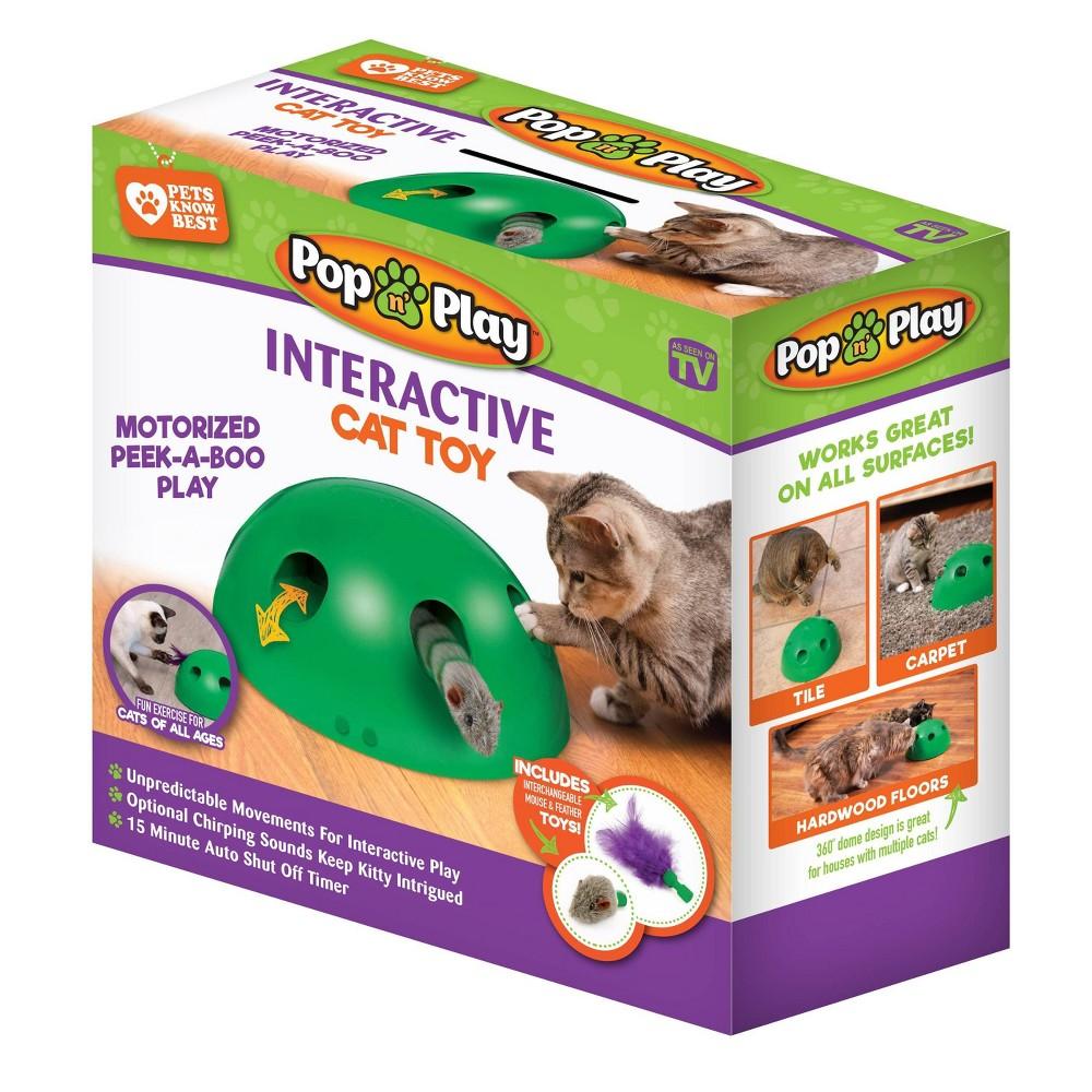 Image of As Seen on TV Pop N Play, Pet toy
