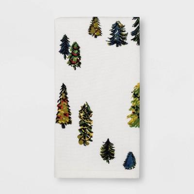 Garland Tree Hand Towel White Feather - Threshold™