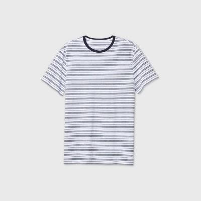 Men's Jacquard Athletic Fit Short Sleeve Novelty Crew Neck T-Shirt - Goodfellow & Co™