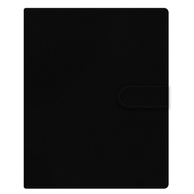 """2021-22 Academic Planner 5"""" x 8"""" 6 Ring Weekly/Monthly Black - Day Designer"""
