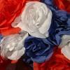 "14"" Patriotic Rose Wreath - National Tree Company - image 3 of 4"