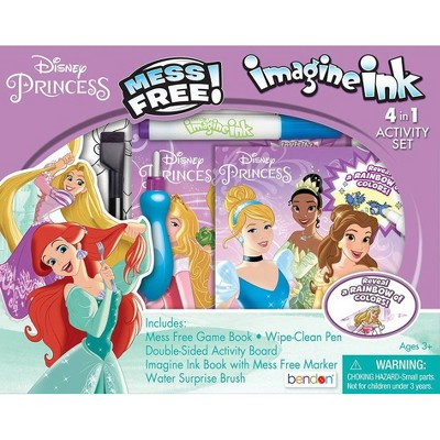 Disney Princess 4-in-1 Activity Kit