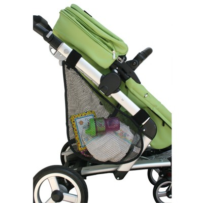 JL Childress Side Sling Stroller Cargo Net - Black