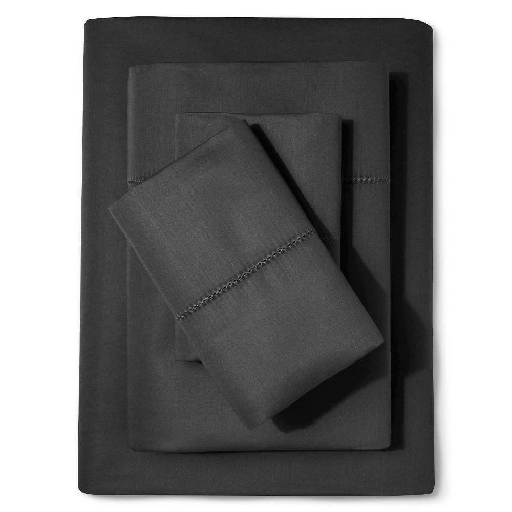 Supima Classic Hemstitch Sheet Set (Full) Essential Gray ...
