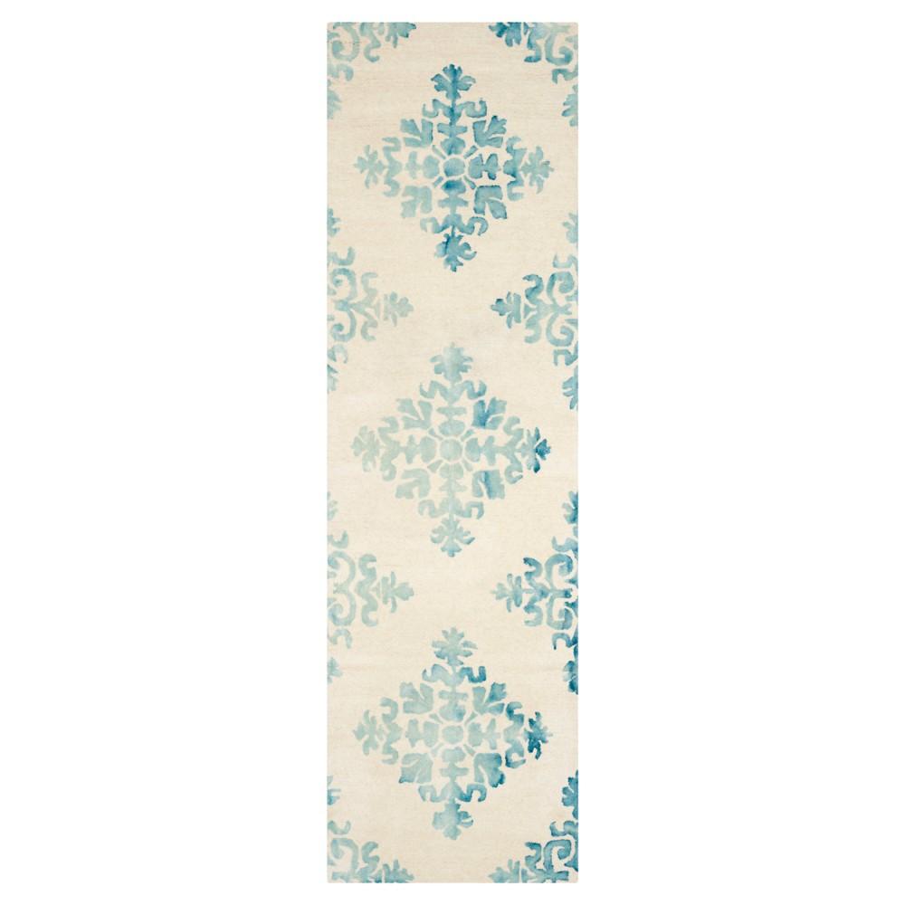 Garrett Area Rug - Ivory/Light Blue (2'3x8') - Safavieh, Blue White