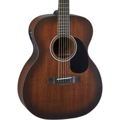 Mitchell T333E-BST Solid Mahogany Auditorium Acoustic-Electric Guitar Edge Burst