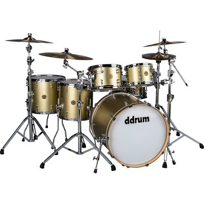 ddrum Dios 5-Piece Shell Pack Satin Gold