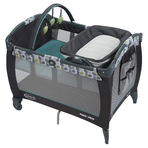 5a8abd2ce44 ... Playard with Reversible Napper and Changer Bassinet. Shop all Graco