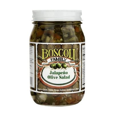 Boscoli Jalapeno Olive Salad - 15.5oz