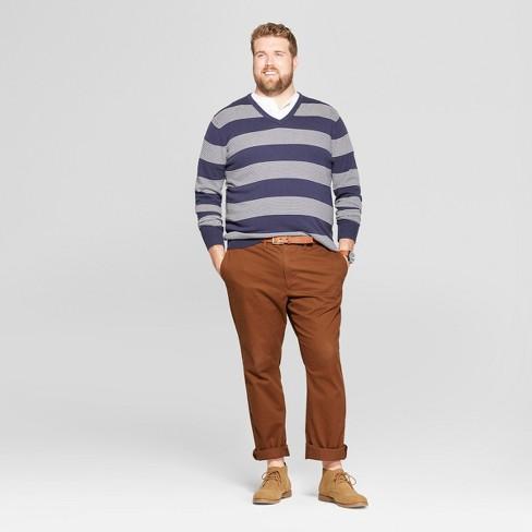 8f8e0a2c25 Men s Big   Tall Crew Neck Sweater - Goodfellow   Co™ Navy Heather   Target