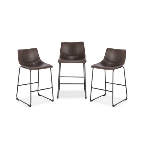 Set of 3 Lakewood Counter Height Barstool - Poly & Bark - image 1 of 4