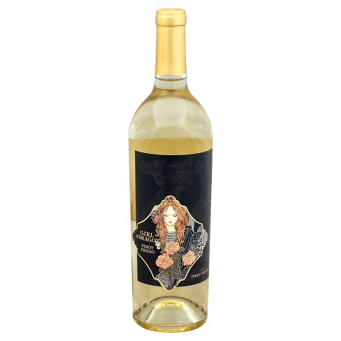 The Girl & The Dragon Pinot Grigio White Wine - 750ml Bottle - image 1 of 2