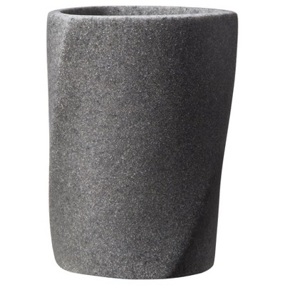 Geo Stone Tumbler Gray - Allure Home