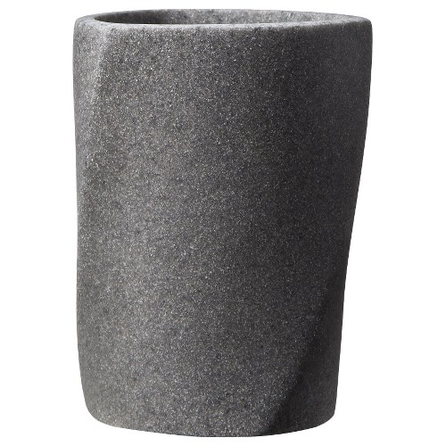 Geo Stone Tumbler Gray - Allure Home