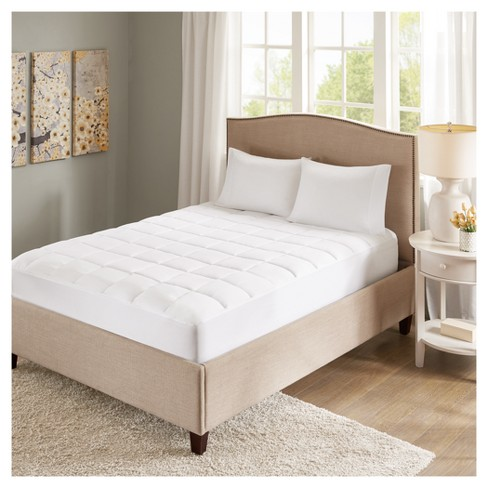 Copper Infused Microfiber Down Alternative Mattress Pad® - image 1 of 3
