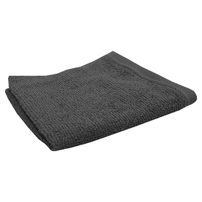 Solid Washcloth Dark Gray - Room Essentials™