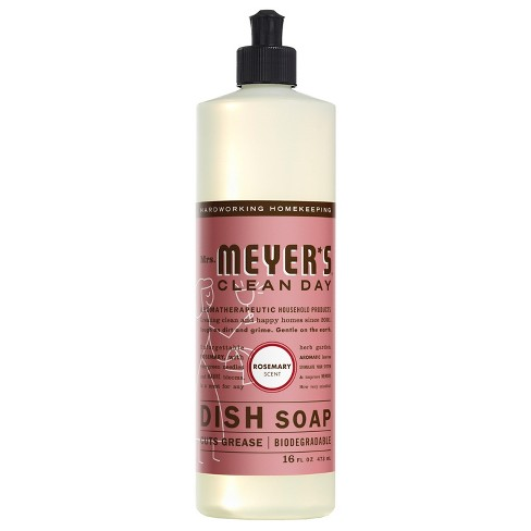 Mrs. Meyer's® Rosemary Scent Dish Soap - 16 fl oz - image 1 of 3