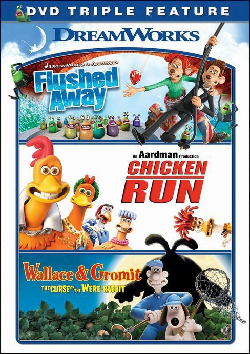 Flushed Away/Chicken Run/Wallace and Gromit [3 Discs] - image 1 of 1