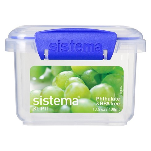 Sistema Klip It 13.5oz Rectangular Container - image 1 of 3