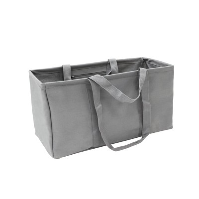 Soft Sided Scrunchable Laundry Basket Pewter Matte - Room Essentials™