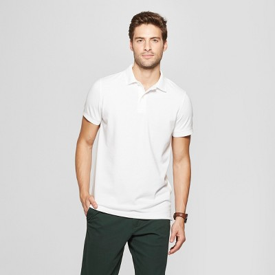 Men's Standard Fit Short Sleeve Loring Polo T-Shirt - Goodfellow & Co™