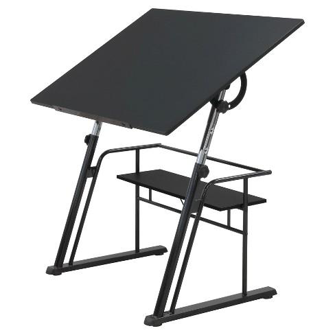 Zenith Adjustable Tilt Table - Black - image 1 of 4