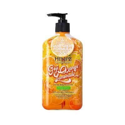 Hempz Limited Edition Goji Orange Lemonade Herbal Body Moisturizer - 17oz