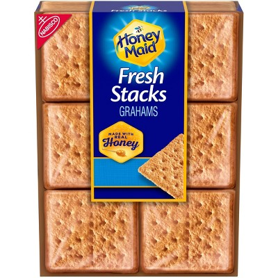 Honey Maid Fresh Stacks Honey Graham Crackers - 12.2oz/6ct