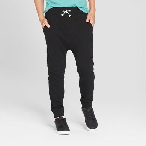 12b21fe9dc4 Boys  Jogger Pants - Cat   Jack™ Black   Target