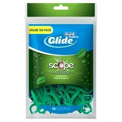 Oral-B Glide Long Lasting Mint Floss Picks - 150ct