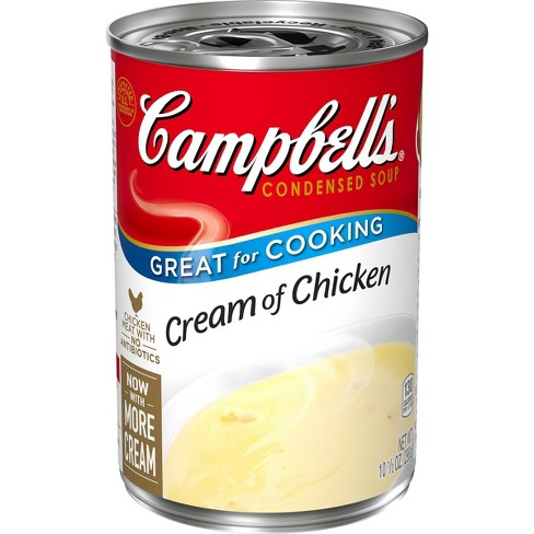 Campbell's Condensed Cream of Chicken Soup - 10.5oz - image 1 of 4