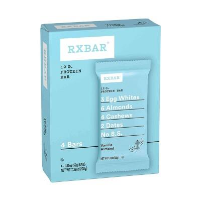 RXBAR Vanilla Almond 7.32oz/4ct